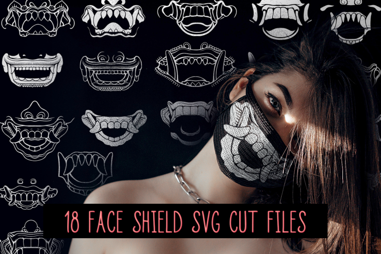Bali Face Masks SVG Preview 1